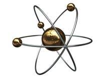 Símbolo del átomo Imágenes de archivo libres de regalías