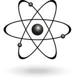 Símbolo del átomo Fotos de archivo