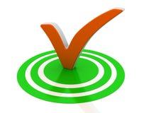 Símbolo del éxito Imagen de archivo libre de regalías