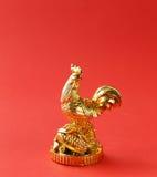 Símbolo del Año Nuevo, gallo de oro, oriental Fotografía de archivo