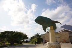 Símbolo del acuario de Churaumi fotos de archivo