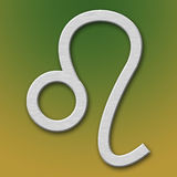 Símbolo del aluminio de Leo Foto de archivo libre de regalías