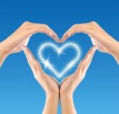 Símbolo del amor Fotografía de archivo libre de regalías