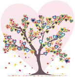 Símbolo del amor stock de ilustración