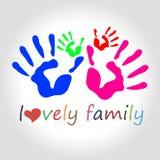 Símbolo del amor del icono de la mano del vector del corazón Fotos de archivo libres de regalías