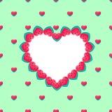 Símbolo del amor dulce Fotos de archivo