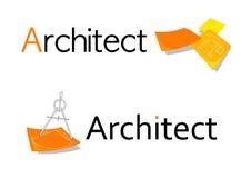 Símbolo del arquitecto Imagen de archivo libre de regalías