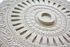 Símbolo del buddhism Imagen de archivo libre de regalías