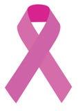 Símbolo del cáncer de pecho Foto de archivo libre de regalías