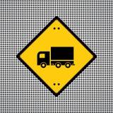Símbolo del camión Imágenes de archivo libres de regalías