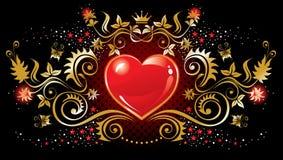 Símbolo del corazón Imagenes de archivo