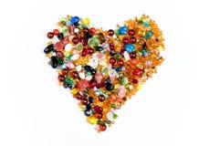 Corazón colorido Imagenes de archivo