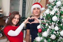 Símbolo del corazón para buenas fiestas Imagen de archivo libre de regalías