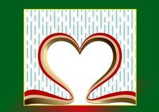 Símbolo del corazón y del amor Fotografía de archivo libre de regalías