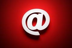 Símbolo del correo electrónico Imagenes de archivo