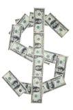 Símbolo del dólar Fotos de archivo