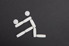 Símbolo del deporte Foto de archivo libre de regalías