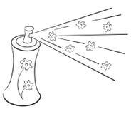 Símbolo del desodorisante stock de ilustración