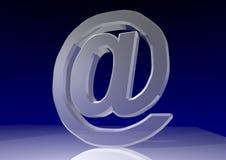 Símbolo del email Fotos de archivo