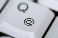 @ símbolo del email Fotos de archivo libres de regalías