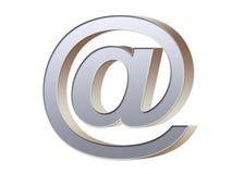 Símbolo del email Foto de archivo libre de regalías