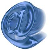 símbolo del email 3D Foto de archivo libre de regalías
