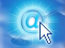 Símbolo del email Fotos de archivo libres de regalías