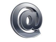 Símbolo del email alias Fotografía de archivo libre de regalías
