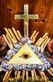 símbolo del freemason Fotos de archivo libres de regalías