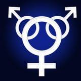 Símbolo del género foto de archivo