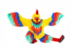 Símbolo del gallo del año 2017 Imágenes de archivo libres de regalías