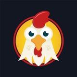 Símbolo del gallo del Año Nuevo Fotos de archivo