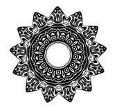 Símbolo del Glyph de la estrella de la sangre Foto de archivo libre de regalías