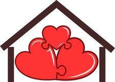 Símbolo del hogar Fotos de archivo