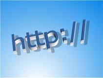 Símbolo del HTTP Fotos de archivo libres de regalías