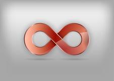 Símbolo del infinito Imagen de archivo libre de regalías