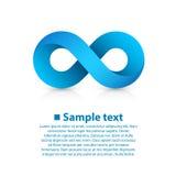 Símbolo del infinito Imágenes de archivo libres de regalías