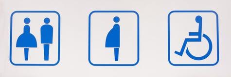Símbolo del lavabo Imagenes de archivo