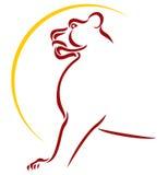 Símbolo del león Foto de archivo libre de regalías