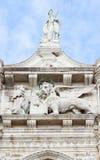 Símbolo del león de Venecia Foto de archivo
