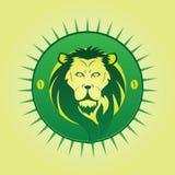 Símbolo del león Fotografía de archivo