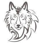 Símbolo del lobo Fotos de archivo