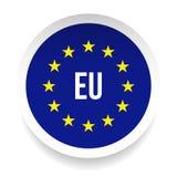 Símbolo del logotipo de la unión europea de E. - stock de ilustración