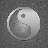 Símbolo del metal Fotos de archivo libres de regalías