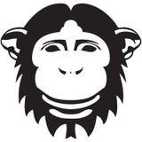 Símbolo del mono de la Navidad y del Año Nuevo Imagenes de archivo