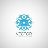Símbolo del ornamental del vector Foto de archivo libre de regalías