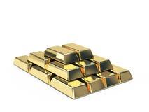 Símbolo del oro Fotos de archivo libres de regalías