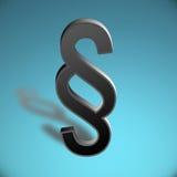 símbolo del párrafo 3D Ilustración del Vector