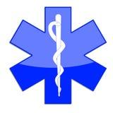 Símbolo del paramédico Imagenes de archivo