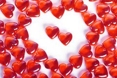 Símbolo del St Valentin Foto de archivo